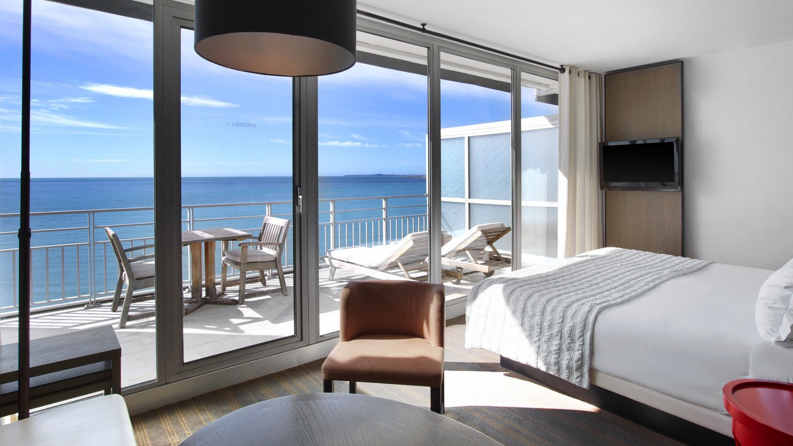 Executive Room Sea View - Terrace In Le Meridien Nice